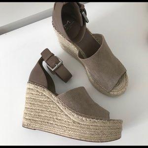 Marc Fisher Alida Espadrille Wedge Sandal